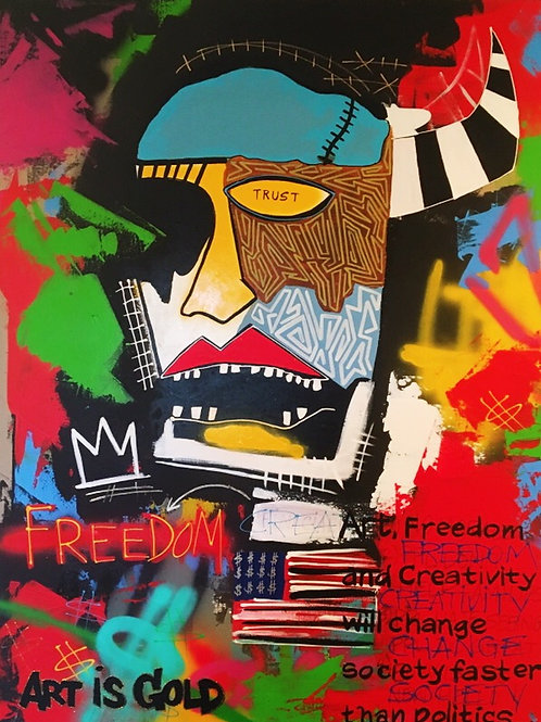 """Freedom to Create"""