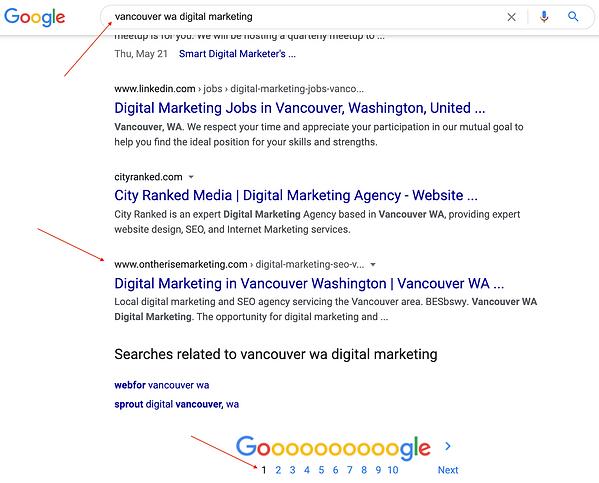 Digital Marketing in Vancouver WA, SEO Vancouver