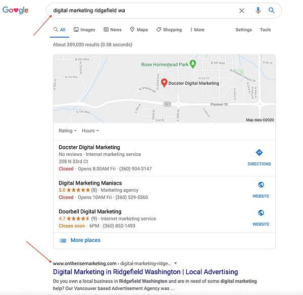 Digital Marketing in Ridgefield WA