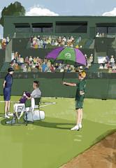 ウィンブルドン / Wimbledon Ball person
