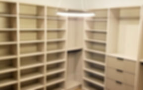 Easy Install Miami Modern Closet Cabinets