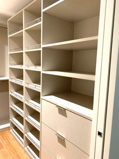 Decorative Melamine Closet