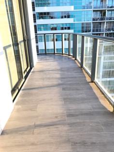 Tile Balcony Floor
