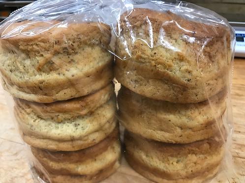 Burger buns - 1/2 dozen