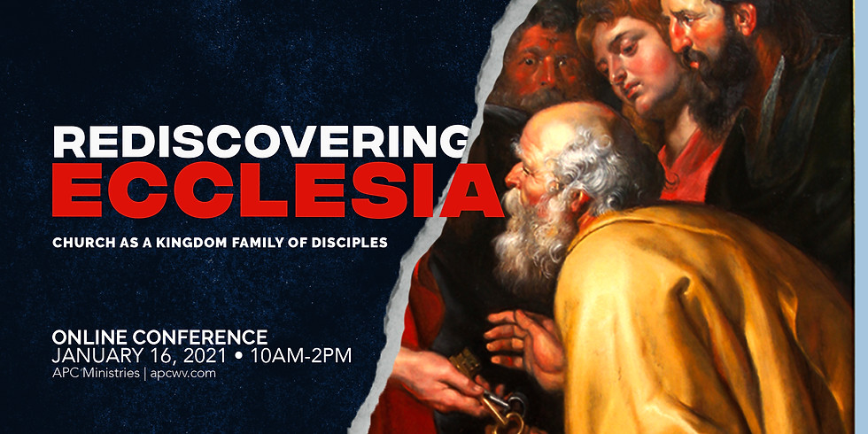 Rediscovering Ecclessia Online Conference