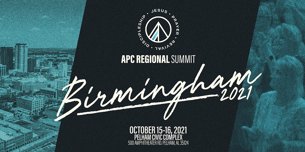 APC REGIONAL SUMMIT • BIRMINGHAM 2021