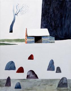 Landscape With Shelter