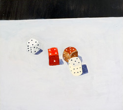 Still Life with Two Fours and