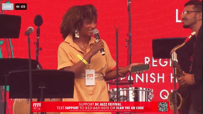 Hosting the DC Jazz Fest 2021