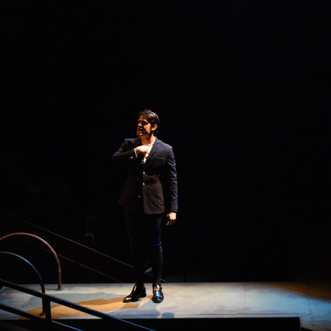 Spring Awakening the Musical in the Greer Garson Theatre
