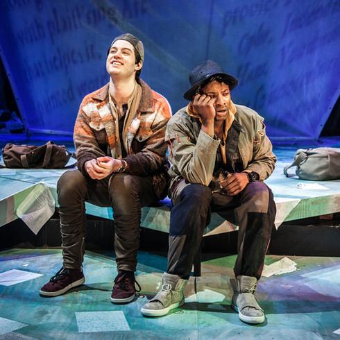 Rosencrantz and Guildenstern are Dead in the Greer Garson Theatre