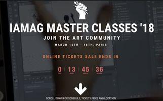 IAMAG Master Classes 18' Paris
