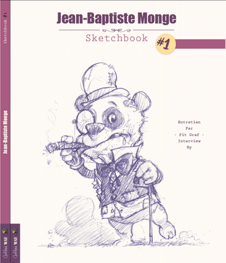 My Sketchbook #1 - Jean-Baptiste Monge © 2015