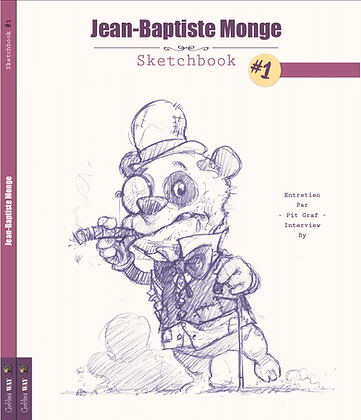 Sketchbook #1 - signed and dedicated