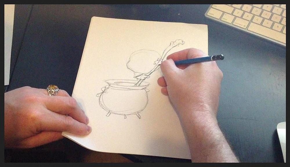 Sketching a Hag -JBMonge.png