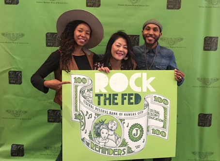 Duo mixes hip-hop with financial education at Rock the Fed