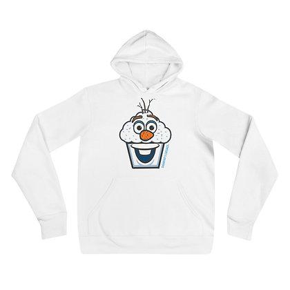 Snowman Cupcake Hoodie