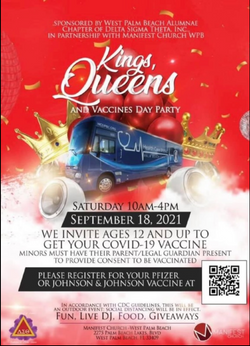 Kings & Queens Vaccines Day Party