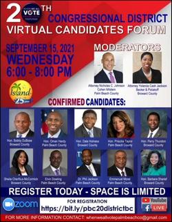 Virtual Candidates Forum
