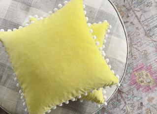 Pom Pom pillows