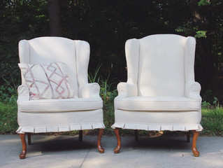 Wingback Slipcovers