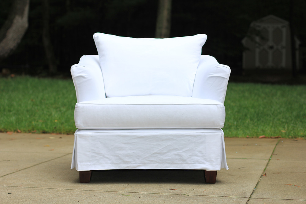 chair - after slipcover