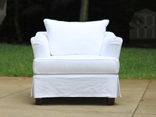 White Chair Slipcover