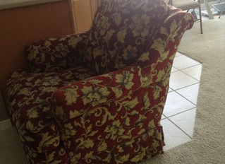 Scrolled Back Chair