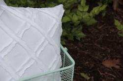 bias lattice pillow