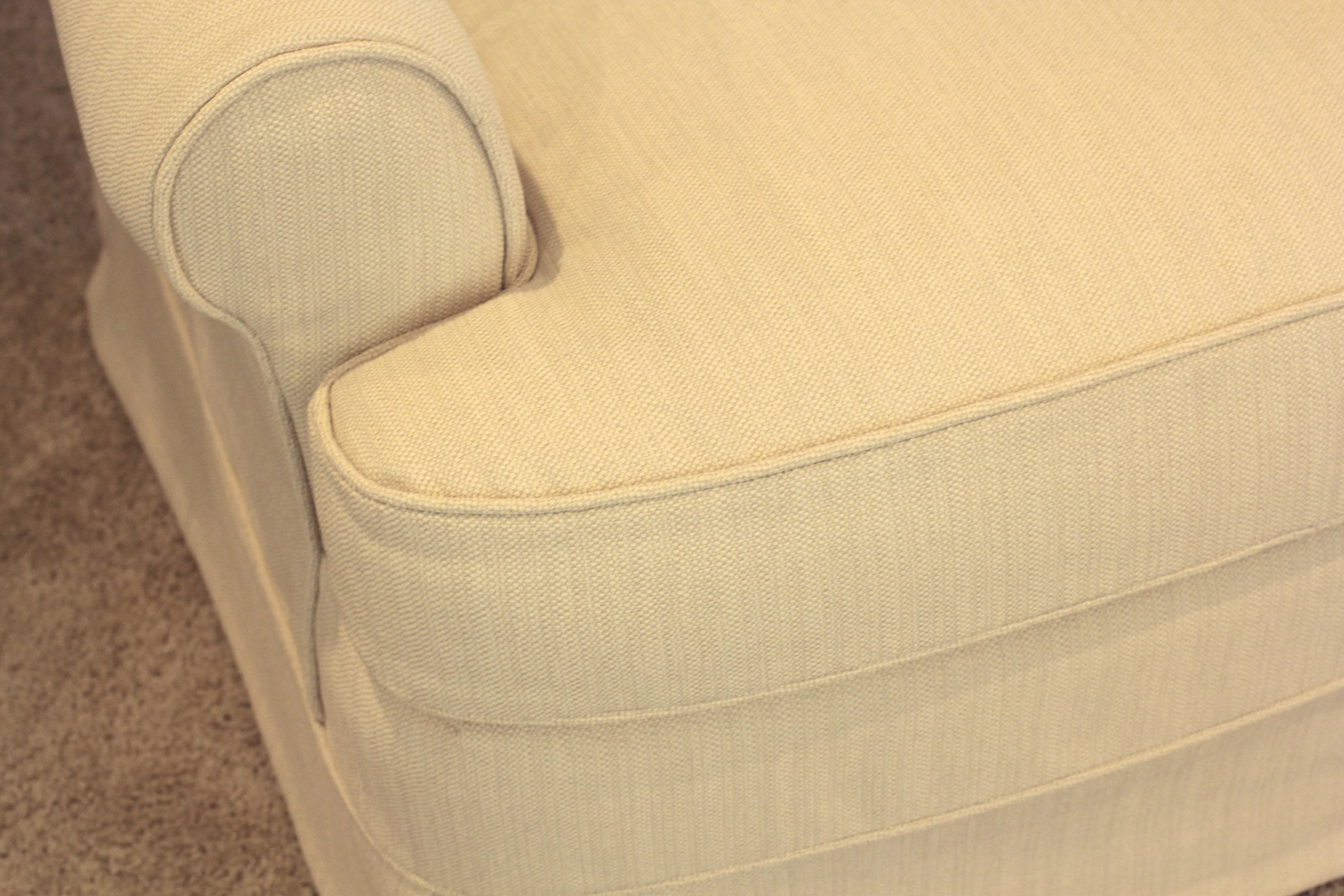 Scrolled Back Chair - front