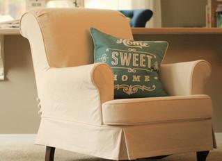 Green Chair Slipcover
