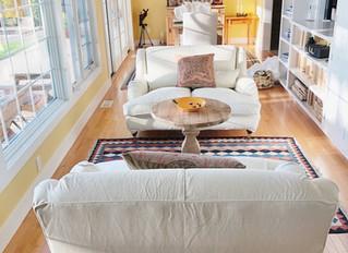 English Rolled Arm sofas