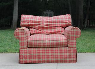 Oversized Arm Chair Slipcover