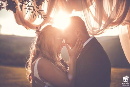 Un mariage champêtre dans la maison familiale