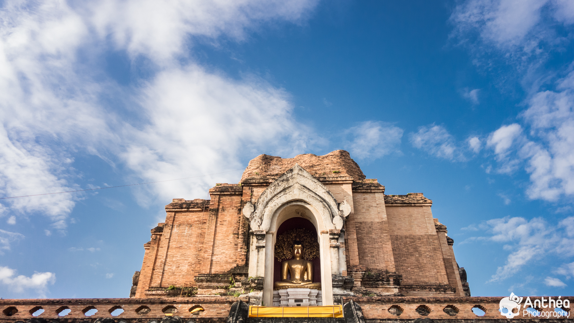 Chiang Mai Wat Chedi Luan Thailand