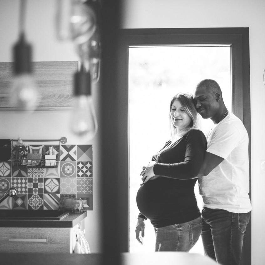 photographe bébé et future maman