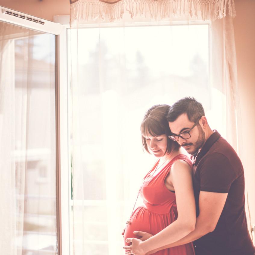 photrographe grossesse à domicile