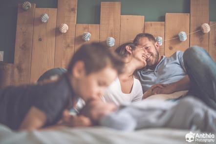 Séance Famille à domicile - Hello Axel !