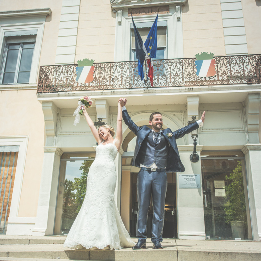Mariage mairie écully
