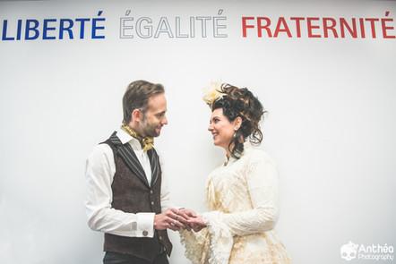 Mariage Steampunk - Victorien - Karin & Guillaume - Saint Étienne / Saint Victor Sur Loire