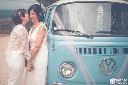 Mariage au Domaine de Bellevue - Anse -  Les Filles se sont dit oui ! [ ML & C 09.08.2019 ]