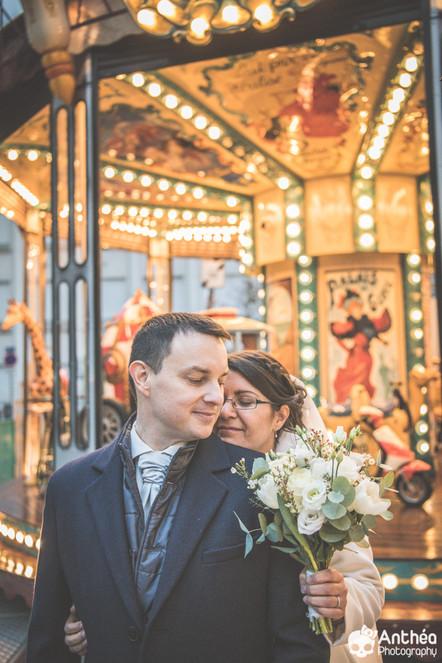 Mariage La Plateforme Lyon - L'hiver est magique !