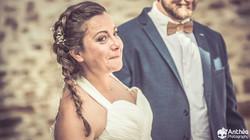 cérémonie laïque larmes mariée loire
