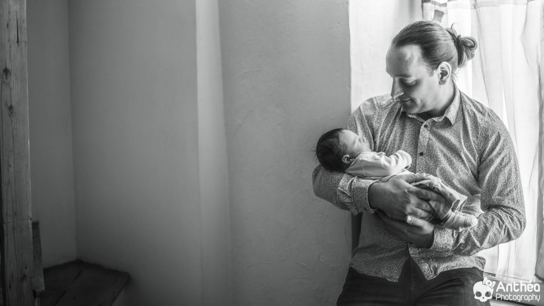 séance papa et bébé