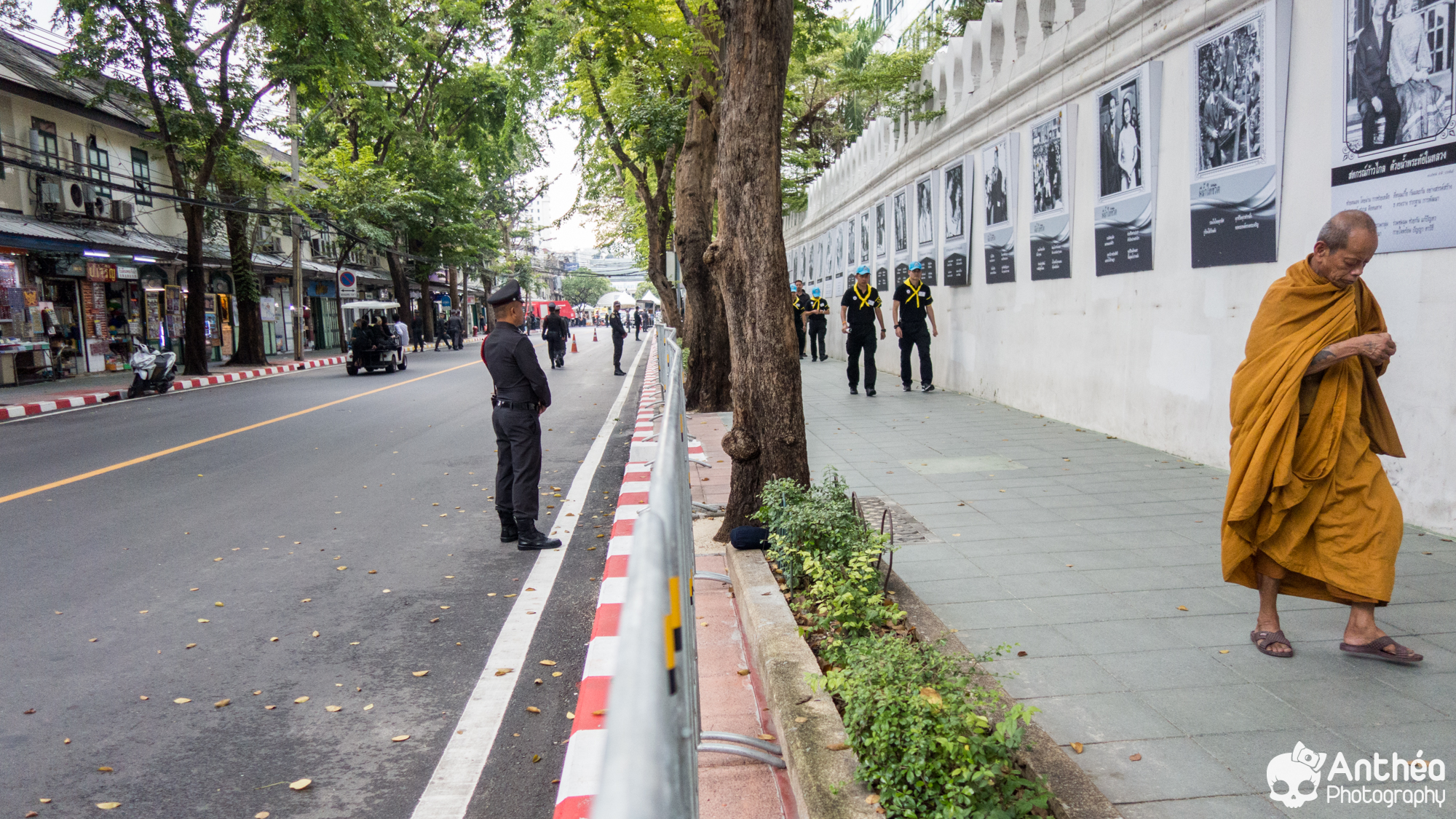 Before cremation of the king bangkok