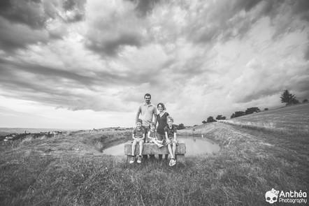 Photographe Nature & Famille - Séance en famille & orage