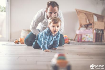 Séance Famille - Lifestyle à domicile - Saint Paul En Jarez - Photographe Famille & bébé Loire