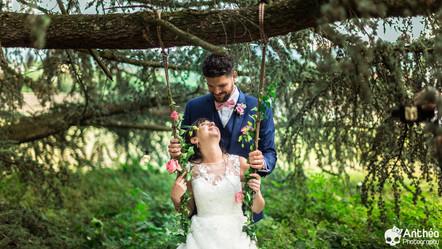 Mariage à Lyon - L'étang - Grezieux La Varenne - Virginie & Aurélien