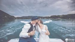 mariage bateau Paladru