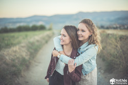 séance photo jumelles soeurs